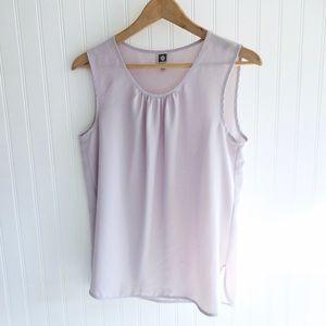 🌸SALE🌸 Anne Klein Lavender Sleeveless Blouse 420